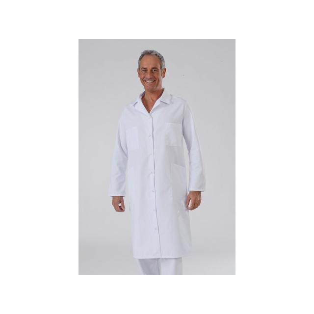 label blouse blouse blanche mixte manches longues en. Black Bedroom Furniture Sets. Home Design Ideas