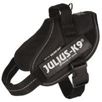 Julius K9 - Julius-k9 Harnais Power Idc - Mini - M : 49-67 cm-22 mm - Noir - Pour chien