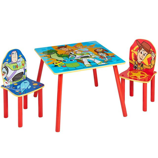 Ensemble table et 2 chaises Toy Story Disney