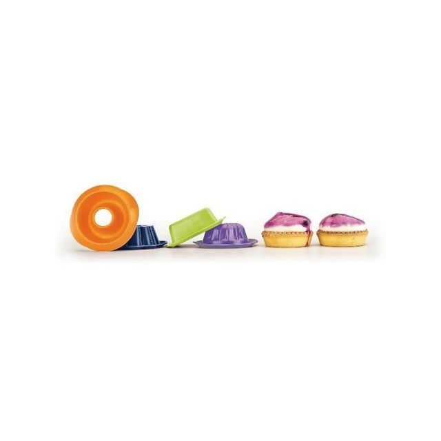 Ibili Lot De 4 Mini Moules Silicone