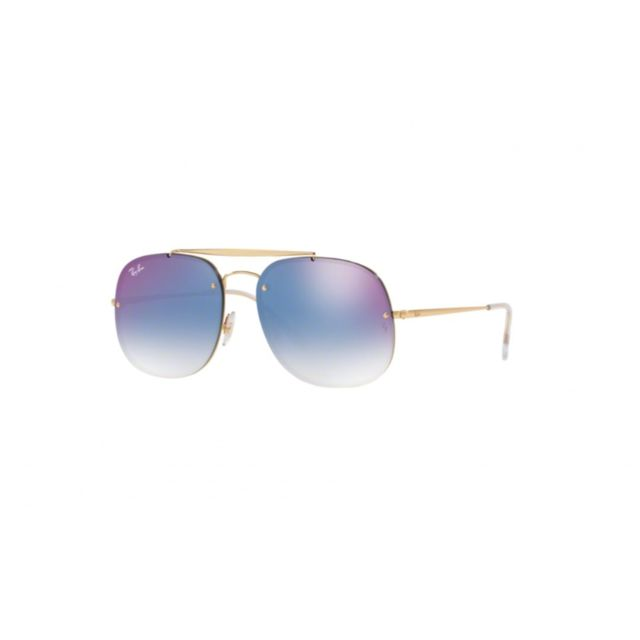 Ray-Ban - Ray Ban Rb 3583-N 001 X0 - Lunettes de soleil mixte Or ... 1ff68e2a25f7