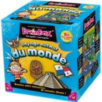 The Green Board Game Co - Jeux de société - Brainbox Voyage autour du Monde