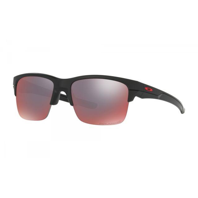 9d31e2505fa43 Oakley - Lunettes Thinlink Black   Torch Polarized - pas cher Achat   Vente  Lunettes Sport - RueDuCommerce