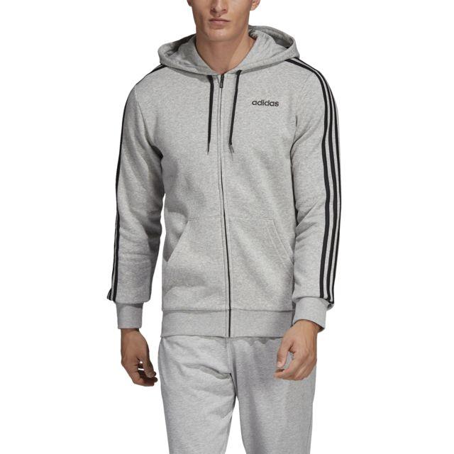 Adidas Veste à capuche Essentials 3 Stripes Fleece pas