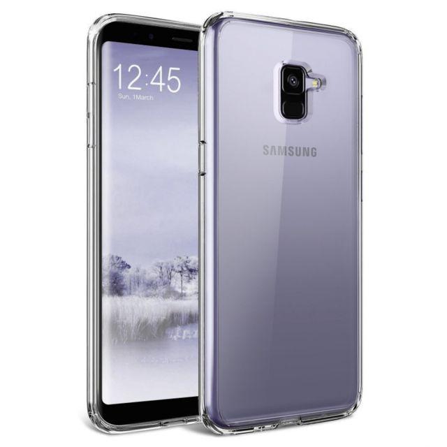 Kowi - Coque Gel Contour - Samsung A8 2018 - A530 - Argent