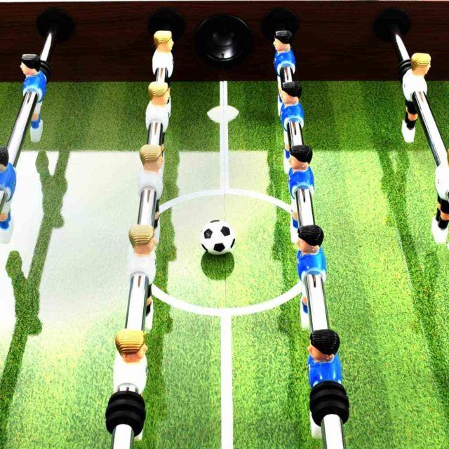 Icaverne - Tables de baby-foot famille Table de football Acier 60 kg 140 x 74,5 x 87,5 cm Marron