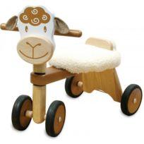 I M Toy - Porteur Vélo 4 roues en bois Mouton Im80005