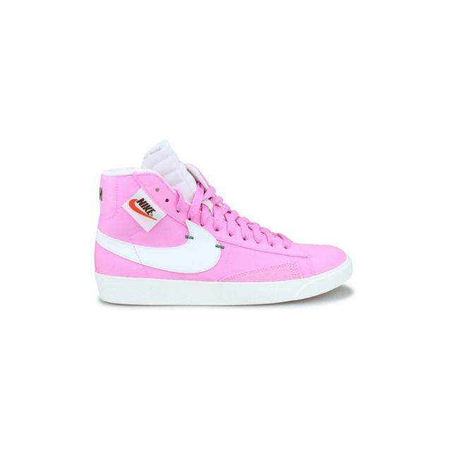 large discount so cheap official shop Nike - Basket W Blazer Mid Rebel Rose Bq4022-602 - pas cher Achat ...
