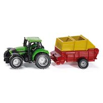 Siku - Tracteur avec wagon de chargement