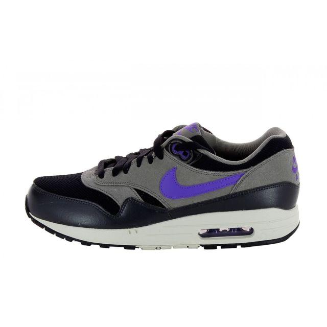 save off ed6d1 8328e Nike - Basket Air Max 1 Essential - 537383-005 Noir - pas cher Achat    Vente Baskets homme - RueDuCommerce