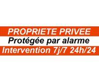 CFP SECURITE - STICK-1 - Autocollant dissuasif alarme pour porte ou fenêtre