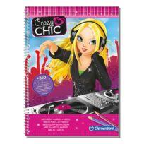 Clementoni - Crazy Chic - Cahier à Dessins Dj