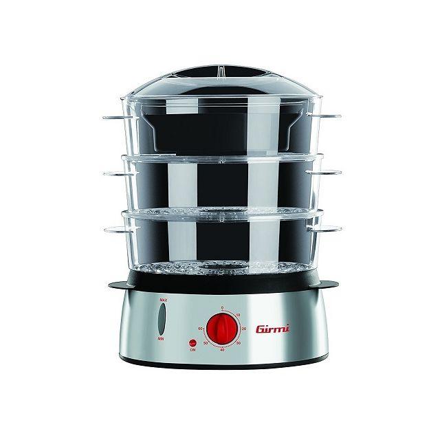 girmi cuiseur vapeur 1000w inox achat robot multifonction. Black Bedroom Furniture Sets. Home Design Ideas