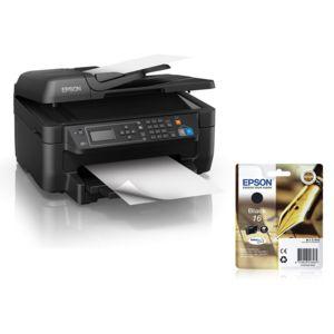 epson pack imprimante wf 2750wf cartouche d 39 encre noire pas cher achat vente imprimante. Black Bedroom Furniture Sets. Home Design Ideas