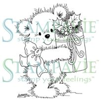 Stampavie - Laurence Design Clear Stamp-merry Ours 3-1/2