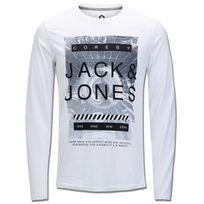 Jack&JONES - Jack And Jones - T-shirt-t-shirt Graphique-homme-white