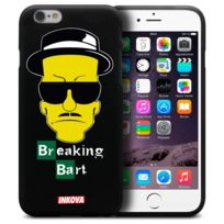 Inkova - Coque Housse Pour iPhone 6 / 6s 4.7 Semi Rigide Gel Tpu Souple Extra Fine Street Design - Breaking Bart
