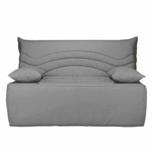 les essentiels by dlm banquette bz housse en coton avec matelas sofaconfort 12cm carlota. Black Bedroom Furniture Sets. Home Design Ideas