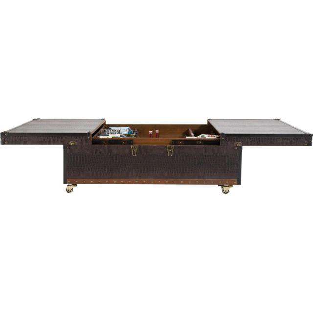 Karedesign Table Basse Bar Croco Colonial Kare Design
