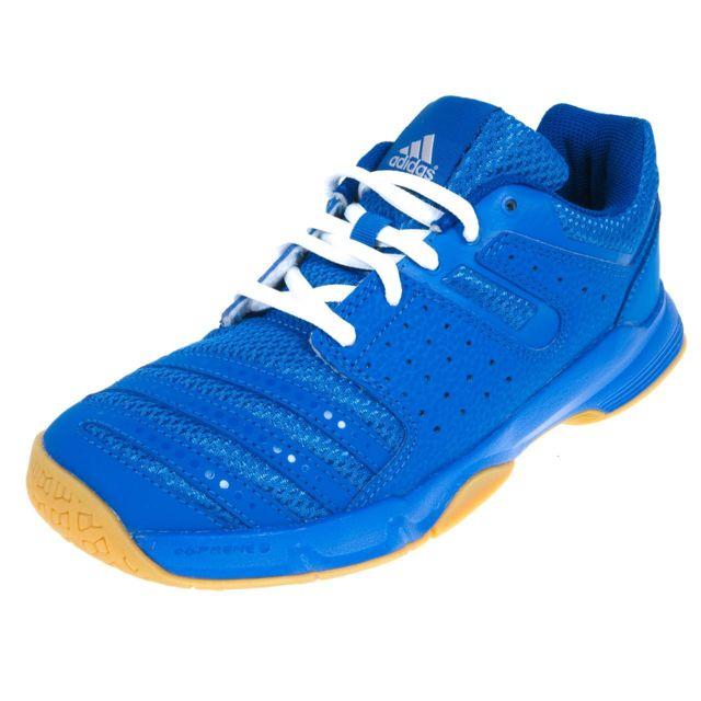 Handball Chaussures Bleu Court Stabil Jr Acheter Adidas