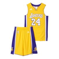 Adidas performance - Ensemble Los Angeles Lakers Bryant jaune, vêtements mixte
