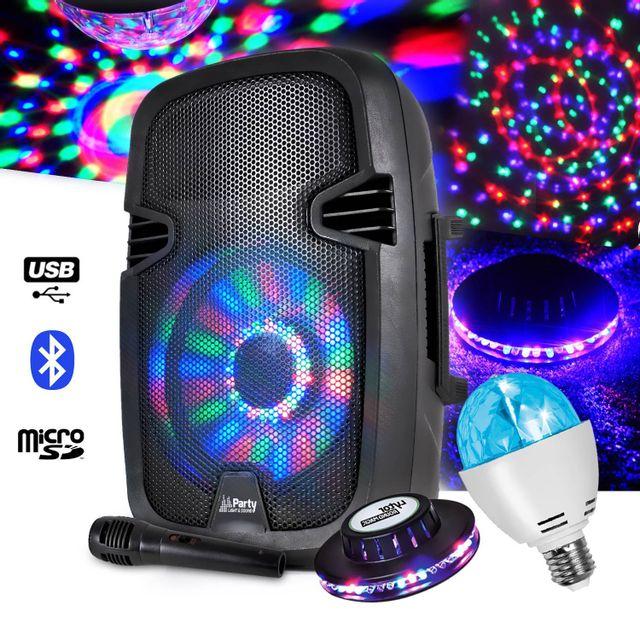 Party Sound Enceinte mobile 300W 8