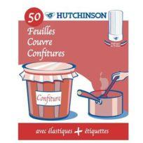 Hutchinson - Lot de 50 couvercles pour confitures