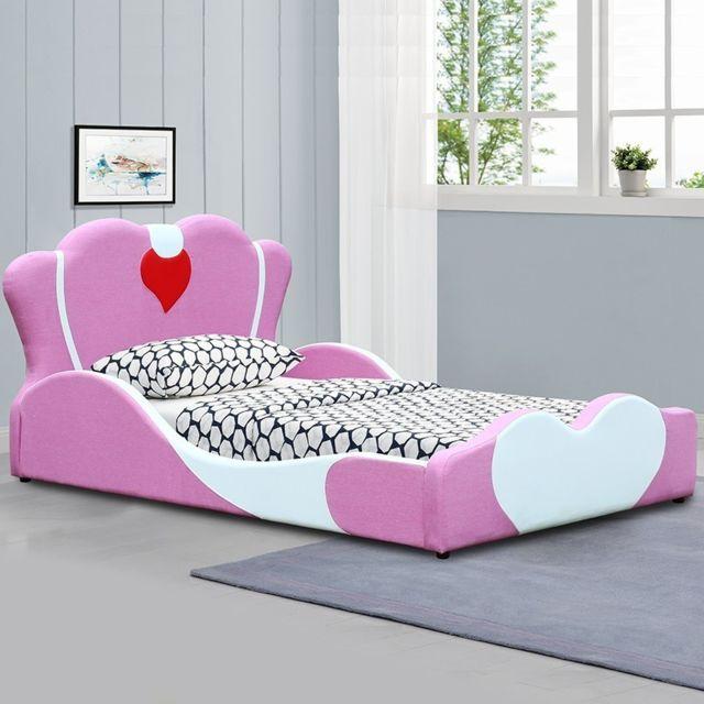 Meubler Design Lit enfant fille Princesses - 90x190