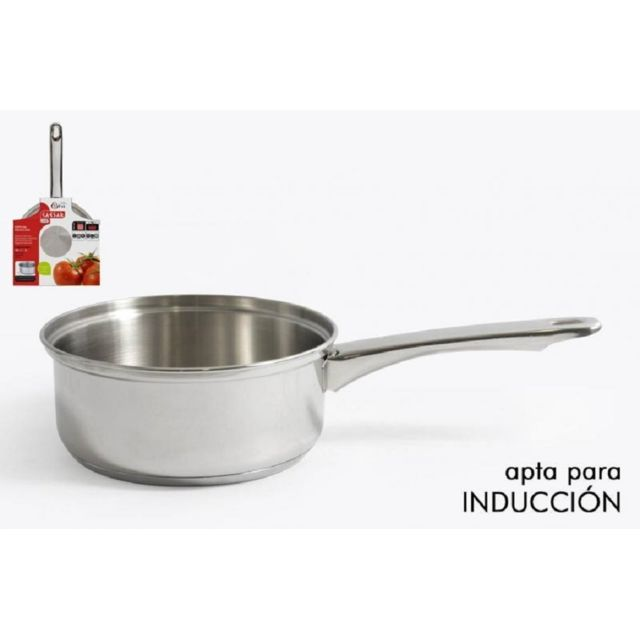 Divers Casserole 14cm inox induction + Couvercle en verre