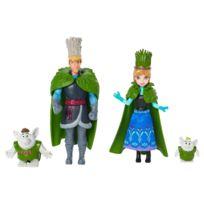 Mattel - La Reine des neiges - Pack 2 poupées Troll Wedding