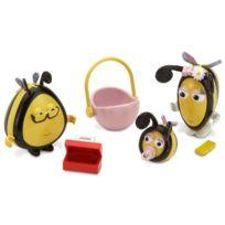 The Hive - Disney - La Ruche - Set Famille - Papabeille, Mamabeille Et BÉBÉ Bee - Figurines