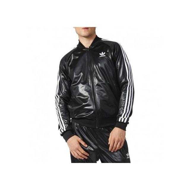 veste tt noir homme adidas