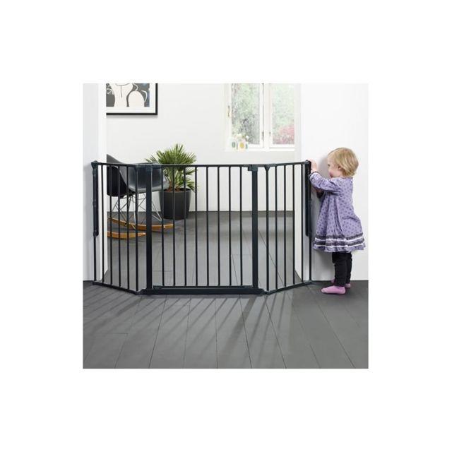 BabyDan Barri/ère Extension M/édium Flex Noir