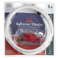 Cookingbox - Kit plancha barbecue flexible raccord a visser 1m
