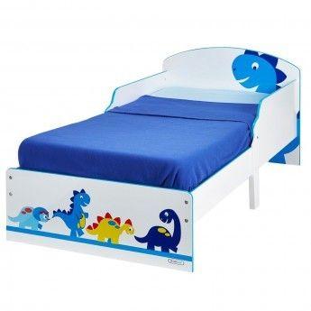 Worlds Apart Lit Enfant 70 x 140 cm P'tit Bed Cosy Dinosaures