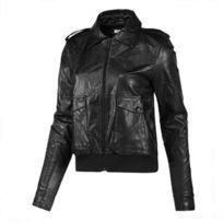 Adidas - Originals-Veste Cs F Lea Jacket Noir Femme X32381