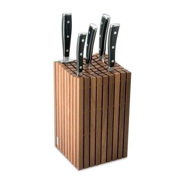 Wusthof Bloc couteaux Design de avec baguettes en bois