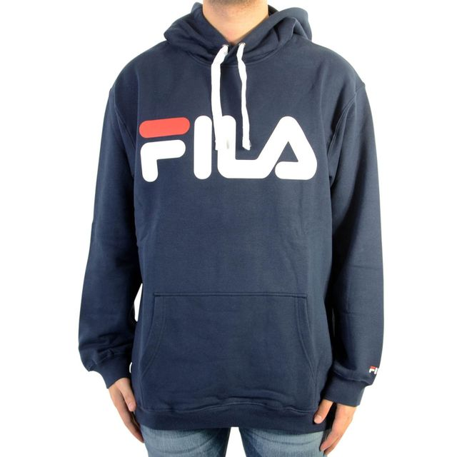 fila sweat a capuche classic black iris bleu pas cher achat vente sweat homme rueducommerce. Black Bedroom Furniture Sets. Home Design Ideas