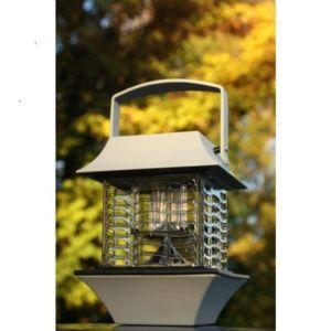 watthome lampe anti moustique solaire gris pas cher achat vente eclairage solaire. Black Bedroom Furniture Sets. Home Design Ideas