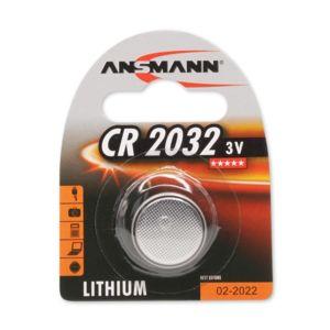ansmann pile bouton lithium cr2032 3 v pas cher achat vente piles rechargeables. Black Bedroom Furniture Sets. Home Design Ideas