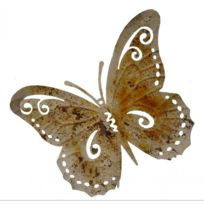 Lu0027HÉRITIER Du Temps   Papillon Décoratif à Poser Ou Décoration Murale à  Fixer En