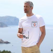 Gulf - T-shirt High Tech blanc pour homme taille Xxl