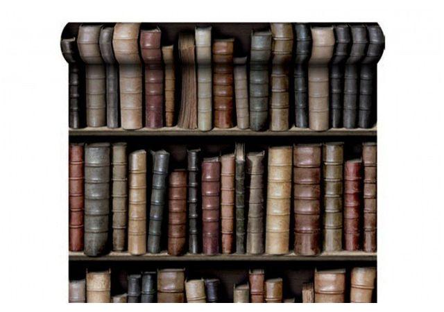 Declikdeco Papier Peint Bibliotheque Pas Cher Achat Vente