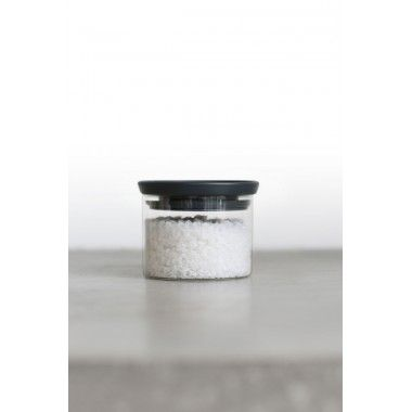 Brabantia Bocal en verre empilable