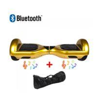 Air Rise - Hoverboard 6,5 Pouces Or Bluetooth+ sac de transport+ télécommande