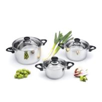 Berghoff - Batterie de cuisine Vision prima 6 pièces - Studio