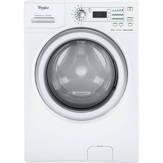 whirlpool awg1212 pro machine laver 12 kg blanc. Black Bedroom Furniture Sets. Home Design Ideas