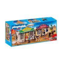 PLAYMOBIL - WESTERN - Coffret de Cow-boy transportable - 4398