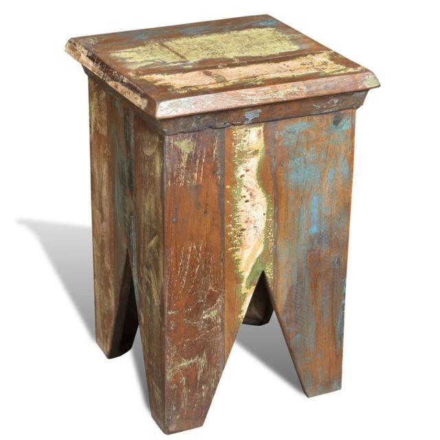 Tabouret récupération Fr Chaise antique Bois Style de MVqzGSUp