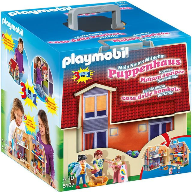 PLAYMOBIL - Maison transportable - 5167